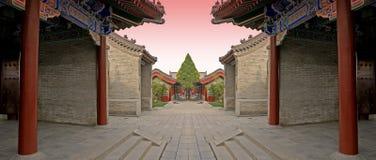 2竞技场中国人作战 免版税库存照片