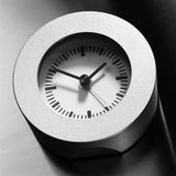 2简单干净的时钟 库存图片