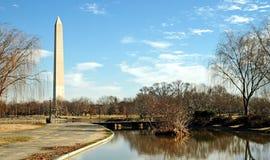 2纪念碑华盛顿 免版税库存照片