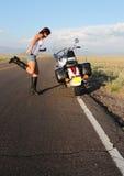 2细分摩托车 免版税库存图片