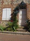2结构法国gerberoy老村庄 免版税库存图片