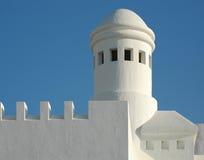 2结构现代西班牙语 库存照片