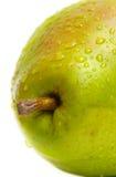 2绿色宏观梨 免版税库存图片