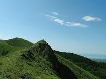 2绿色山 免版税图库摄影