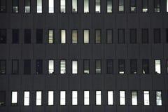 2编译的办公室视窗 免版税库存照片