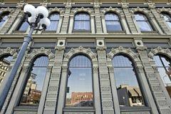 2编译的街市有历史的俄勒冈萨利姆 库存图片