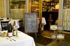 2美国人咖啡馆法语 图库摄影