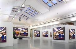 2美术画廊 免版税图库摄影