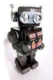 2老机器人罐子玩具 免版税库存图片