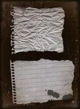 2老纸张 图库摄影