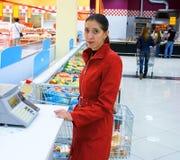 2自服务超级市场 图库摄影