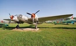 2航空历史记录 免版税库存图片