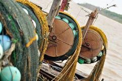 2艘捕鱼船 图库摄影