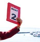 2艘救生艇编号 免版税库存照片