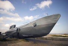 2艘潜水艇战争世界 库存照片