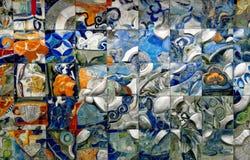 2艺术性的墙壁 库存照片