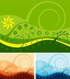 2花卉背景 免版税库存照片