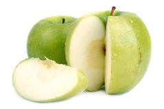 2苹果绿 免版税图库摄影