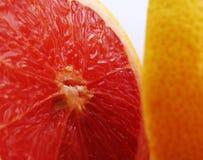 2葡萄柚 免版税库存照片