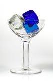 2蓝色冰 免版税图库摄影