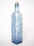 2蓝色瓶 库存照片