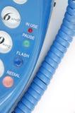 2蓝色电话 免版税库存图片