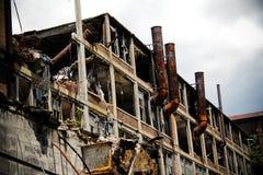2被放弃的工厂packard 免版税库存图片