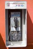 2被破坏的投币式公用电话 免版税库存图片