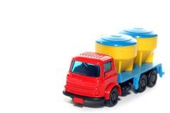 2贝得福得水泥塑料卡车 免版税库存图片