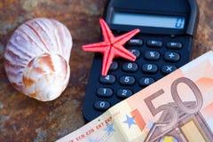 2货币旅行 免版税图库摄影