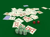 2赌博 免版税库存图片