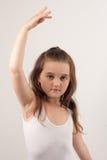 2跳芭蕾舞者一点 免版税库存照片