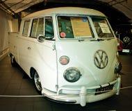 2辆公共汽车微类型大众 免版税库存图片