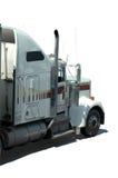 2辆卡车白色 库存图片