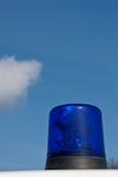 2辆救护车蓝色光 免版税图库摄影