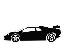 2辆汽车体育运动向量 免版税库存照片