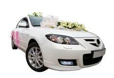2辆汽车白色 免版税库存照片