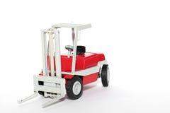 2辆汽车铲车玩具 库存图片