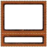 2邮票 库存图片