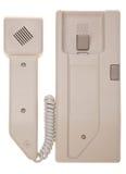 2部对讲机电话 免版税库存照片