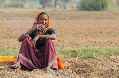 2野外工事印度 免版税库存图片