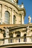2间大教堂布达佩斯详细资料st斯蒂芬 库存图片