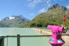 2阿尔卑斯双眼没有 免版税库存照片