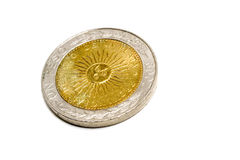 2阿根廷人硬币 库存图片