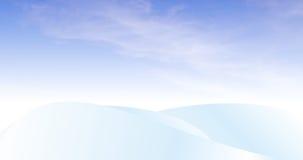 2随风飘飞的雪 向量例证