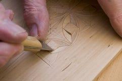 2雕刻的木头 免版税库存照片