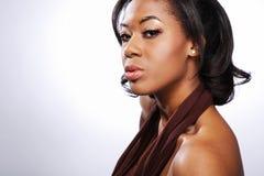2非洲美国时装模特儿 库存照片