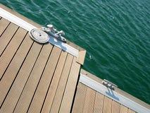 2靠码头的绳索 图库摄影