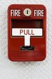 2预警火触发器 免版税库存照片