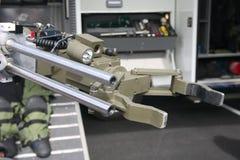 2颗炸弹机器人 图库摄影